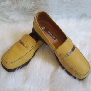 Mustard Yellow Oxford Loafer Sz 8.5